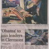 2009-02-20 Obama to join leaders in Clermont South Lake Press pg1 1200 PHOF WHR