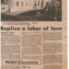 1986-12-13-14 Green Bay News Chronicle Replica a labor of Love 1200 WHR