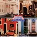 web 1992 POSTCARD White House Replica 002F WHR