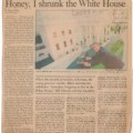 1993-01-17 Boston Globe Daily News Honey I shrunk the White House sm WHR