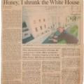 1993-01-17 Boston Globe Daily News Honey I shrunk the White House sm WHR