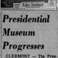 Presidential Museum Progresses