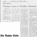 Tourism comes to Florida's Clermont