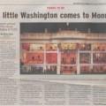 2008-09-13 Monroe Times A little Washington comes to Monroe sm WI WHR