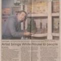 1986-12-12 Green Bay Press-Gazette Artist brings White House to people 350 small WI