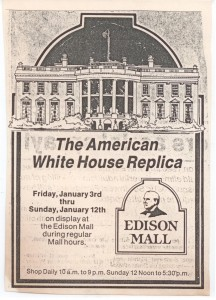 1984-01-03,21The American White House Replica Edison Mall Fort Myers, FL WHR